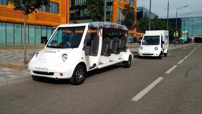 ВКрыму начнётся серийный выпуск электромобилей