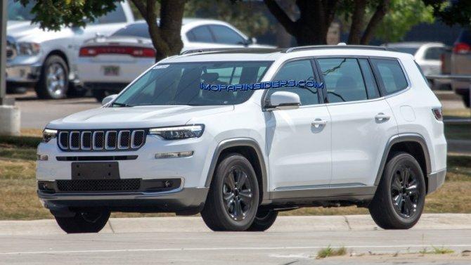 Возрождённый Jeep Wagoneer получит внедорожную версию