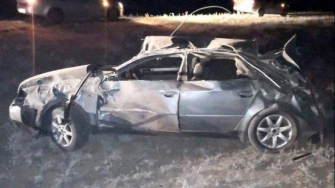 Четыре человека погибли в ДТП под Астраханью