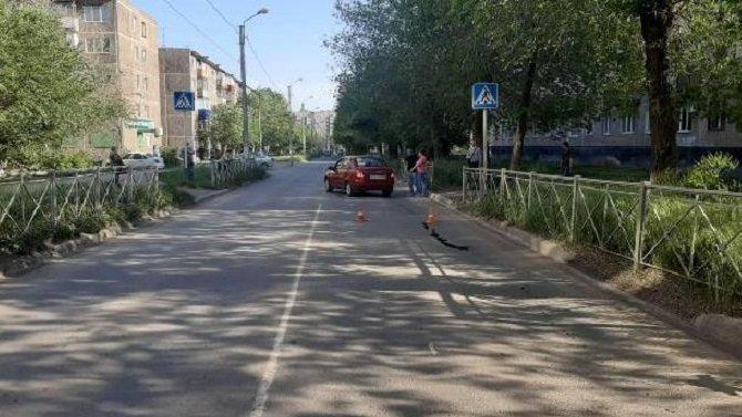 В Новотроицке на переходе сбили женщину