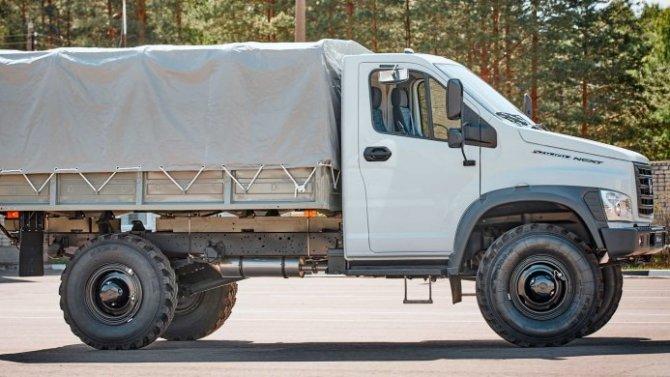 ГАЗ начал продажи новых «ГАЗон Садко NEXT»