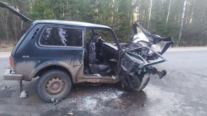 Пассажирка ВАЗа погибла в ДТП в Удмуртии