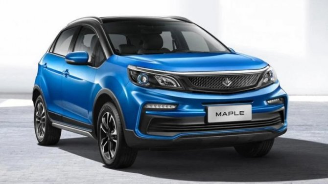 Новый электромобиль Maple 30X обзавёлся ценником