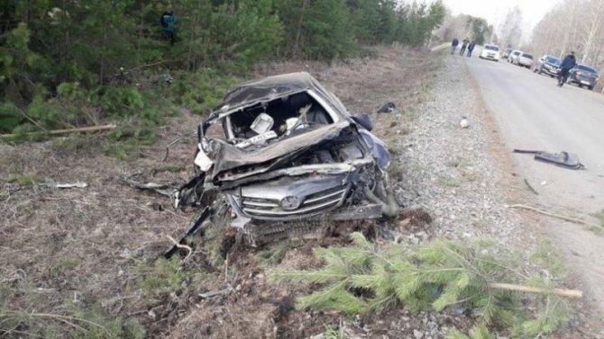 В Башкирии иномарка врезалась в дерево – водитель погиб