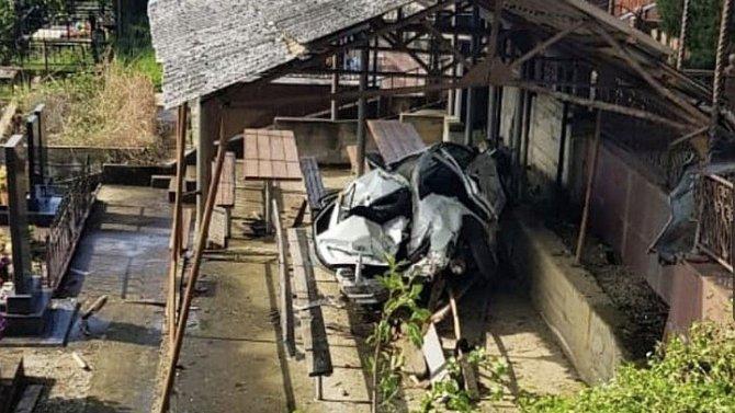 В Сочи в ДТП возле кладбища погиб человек