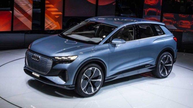 Самым доступным электромобилем Audi станет кроссовер Q4 e-Тron
