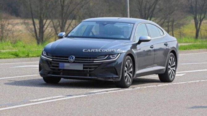 Обновлённый Volkswagen Arteon предстал без камуфляжа