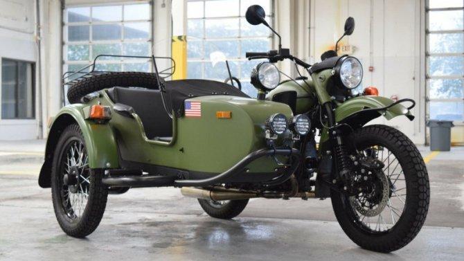 Пандемия: продлена гарантия намотоциклы «Урал»