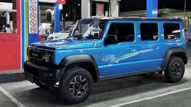 Пятидверный Suzuki Jimny пойдёт всерию