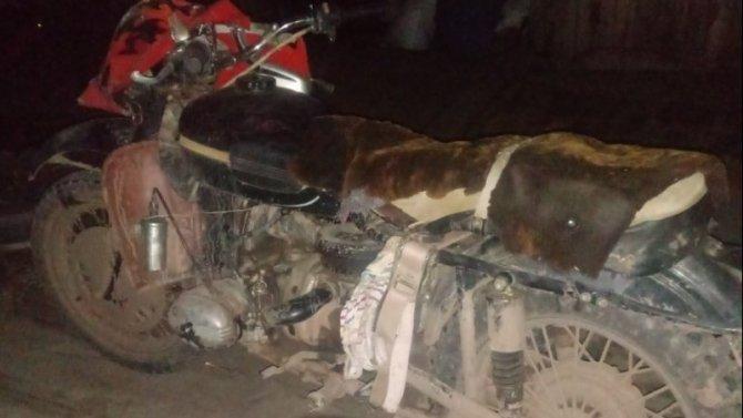 15-летний мотоциклист серьезно пострадал в ДТП в Братском районе