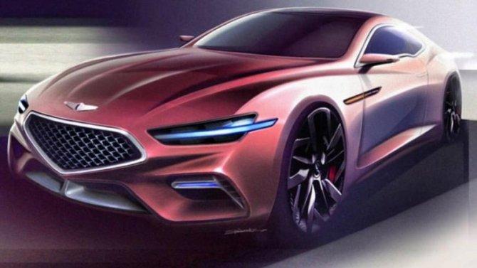 Винтернете появились изображения купе Genesis GT70