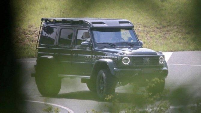 Mercedes-Benz разрабатывает особо брутальный «Гелик»