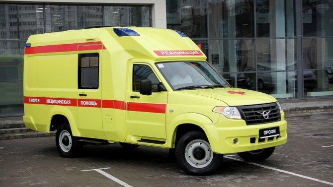 УАЗ увеличит выпуск машин «Скорой помощи»