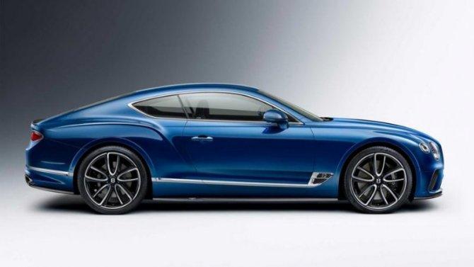 Купе Bentley ContinentalGT получило новый обвес