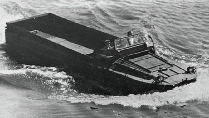 Военные амфибии: плавающие автомобили союзников и их советские наследники