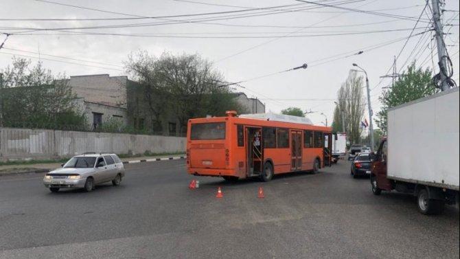 Ребенок пострадал в ДТП с автобусом в Нижнем Новгороде