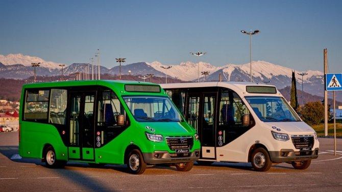 Начались продажи малого автобуса «ГАЗель City»