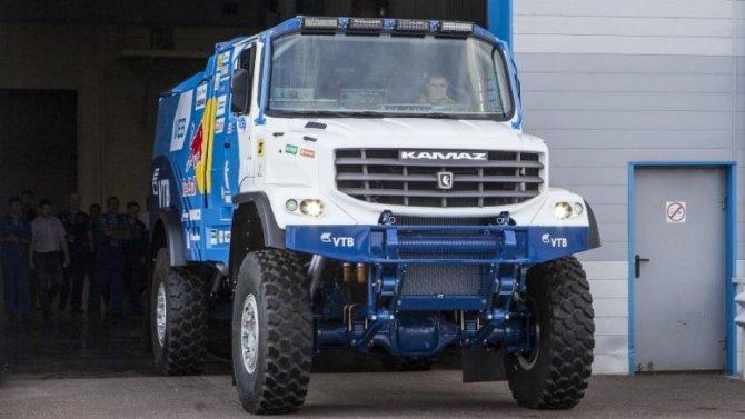 «КамАЗ» создаёт новый гоночный грузовик