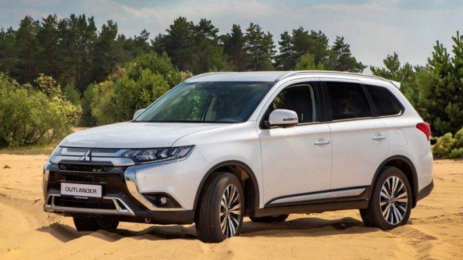 Падение рубля: подорожали автомобили Mitsubishi