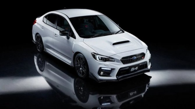 Спорт-седан Subaru WRX получил лимитированную спецверсию