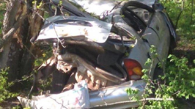 В Стерлибашевском районе Башкириипри опрокидывании машины погиб человек