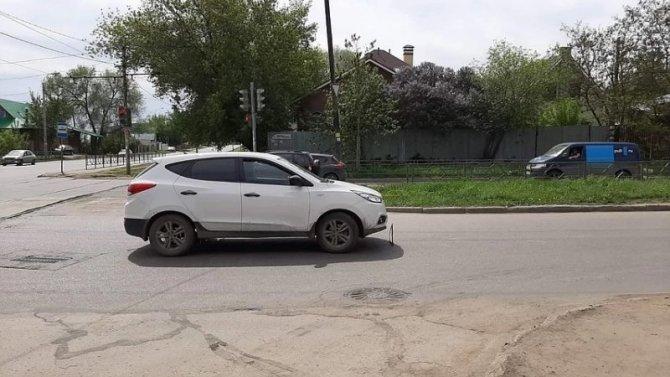 В Самаре на переходе сбили пешехода