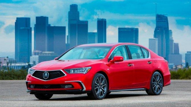 Седан Acura RLX снимут спроизводства
