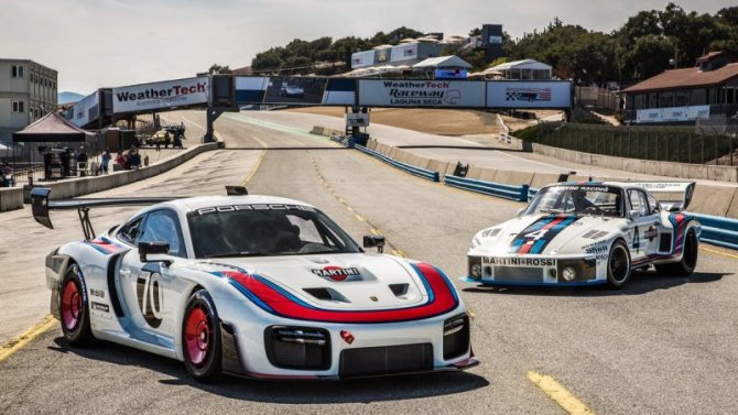 Выпущена ограниченная серия спорткаров Porsche 935