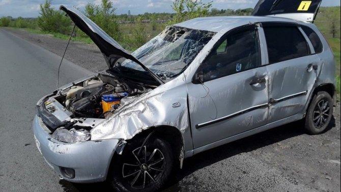 В Орске в ДТП пострадал 2-летний ребенок