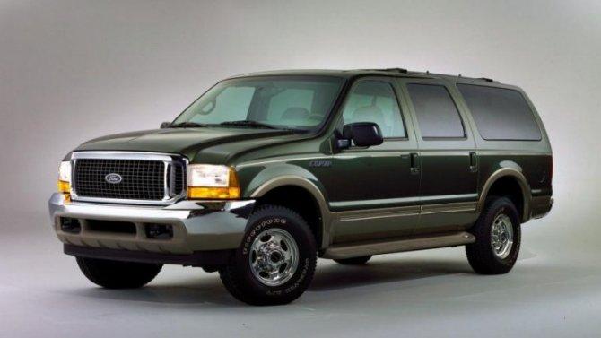 Ford возрождает название Excursion