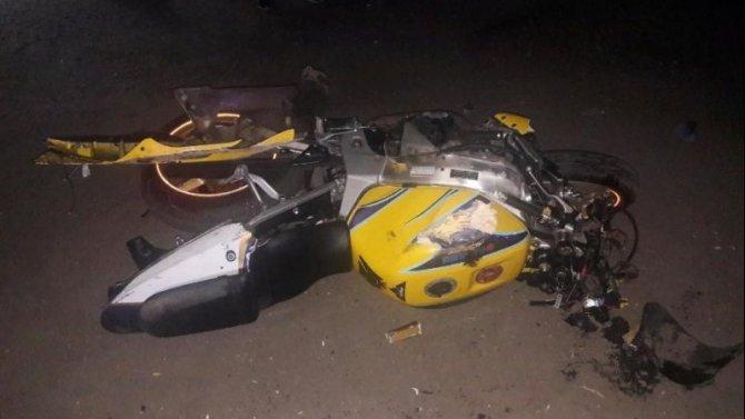 Мотоциклист погиб в ДТП в Тамбовской области