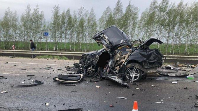 Водитель «Мерседеса» погиб в ДТП в Рязанской области
