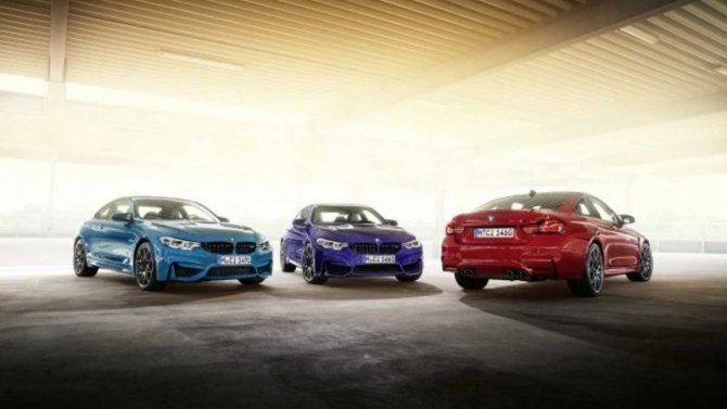 ВРоссии начались продажи лимитированной серии BMW M4
