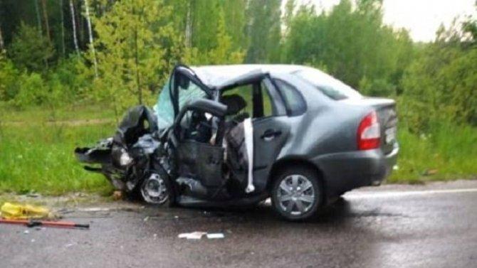 В ДТП в Брянской области погибли два человека