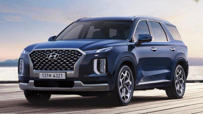 Представлен обновлённый Hyundai Palisade