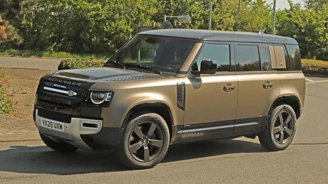 Land Rover Defender может получить два мотора V8