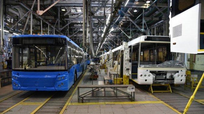 Производство общественного транспорта вРоссии останется напрежнем уровне