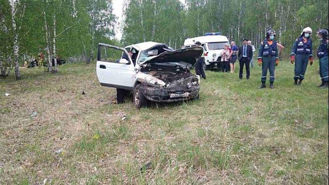 При опрокидывании машины в Челябинской области погиб молодой водитель