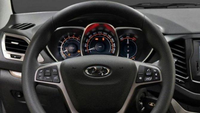 Винтернете показали новую цифровую «приборку» для Lada Vesta