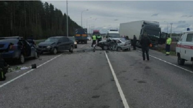 В ДТП на трассе «Кола» погиб человек
