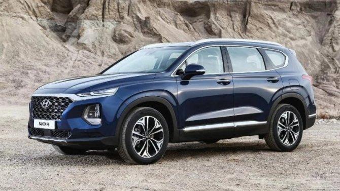 Новый Hyundai Santa Feдля России: появились подробности