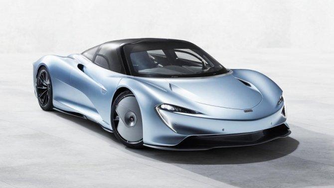 Самый быстрый McLaren: рассекречена силовая установка