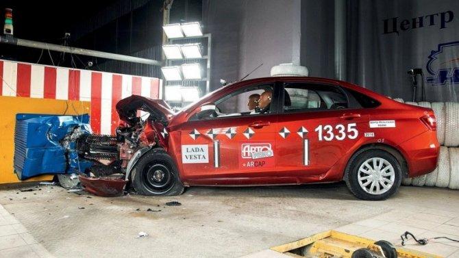 «АвтоВАЗ» рассказал о том, как проводит краш-тесты