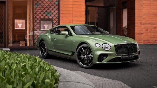 Начались продажи нового Bentley ContinentalGT