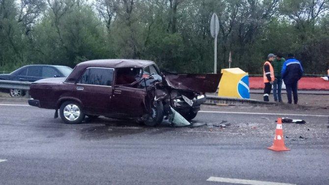 19-летний пассажир ВАЗа погиб в ДТП под Воронежем