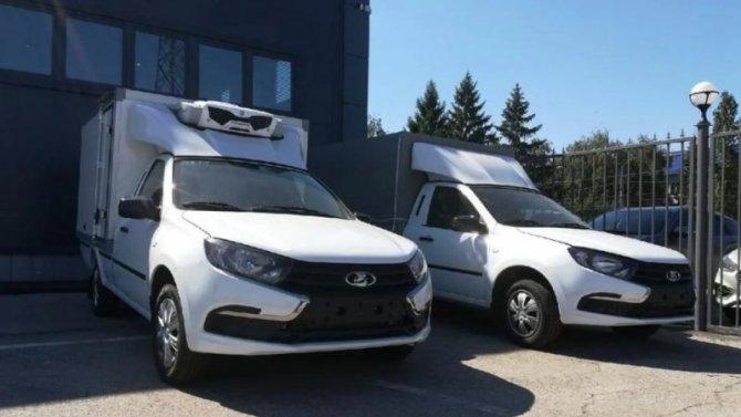 Lada Granta получила новую грузовую версию