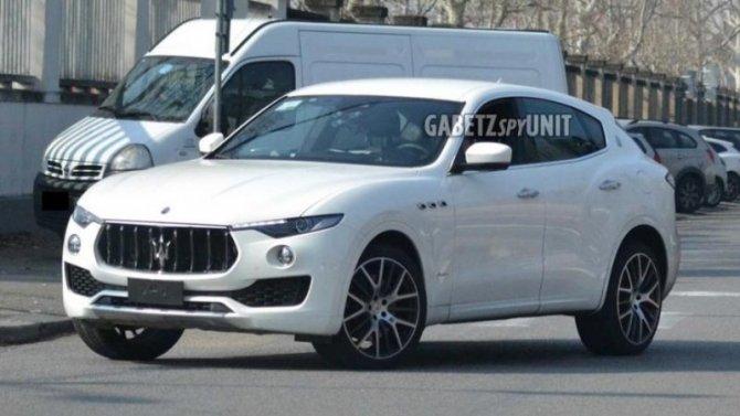 На «Нюрбургринг» выехал обновлённый Maserati Levante
