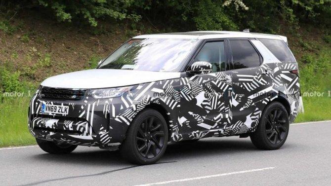 Надорогах замечен обновлённый Land Rover Discovery