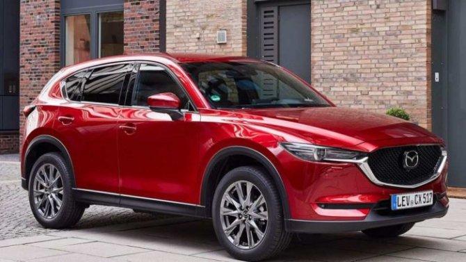 Стал известен преемник кроссовера Mazda CX-5