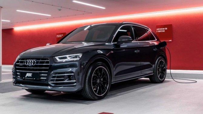 В Германии «зарядили» гибридный кроссовер Audi Q5